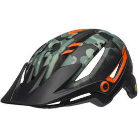 Bell Sixer MIPS Helmet oak matte black/dark green/orange
